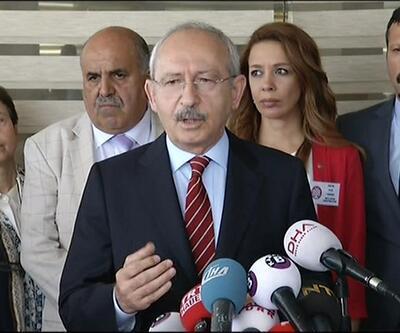 Kılıçdaroğlu: 'Cübbelerinizi çıkarıp parlamentoya gelin'