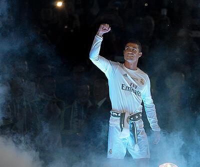 Ronaldo Sol Meydanı'nda 'Siiiiiiii' diye bağırdı