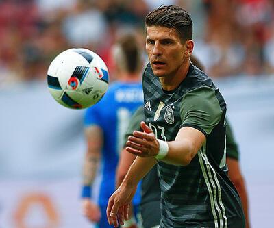 Mario Gomez'in golü Almanya'ya yetmedi