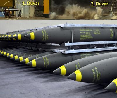 Türkiye'nin ilk sığınak delici bombaları