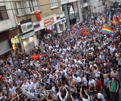 Gezi Parkı eylemlerinin yıl dönümünde İstiklal'de toplandılar