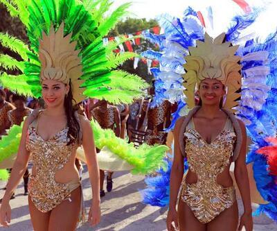 Rio Karnavalı gibi 'Kiraz Festivali'