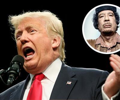 Donald Trump: Kaddafi'den kazanan tek kişiyim