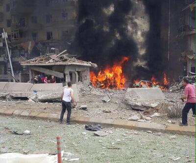 Mardin Midyat'taki bombalı saldırıdan kareler