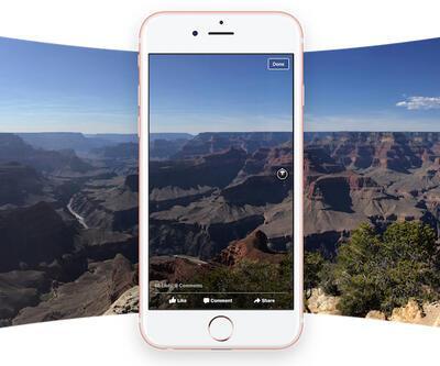 Artık Facebook'ta 360 derece fotoğraf paylaşılabilecek