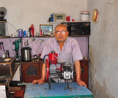 Havayla çalıştığını öne sürdüğü motor için patent almak istedi