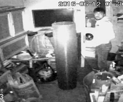 Hırsızın kamerayla imtihanı