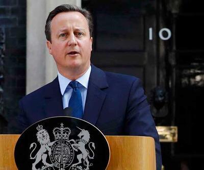 Cameron istifa edeceğini açıkladı