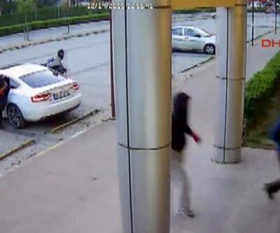 Jet soyguncular güvenlik kamerasında