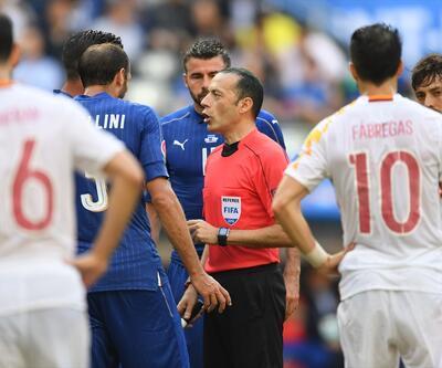 Cüneyt Çakır'ın İtalya-İspanya maçı yönetimi için ne dediler?