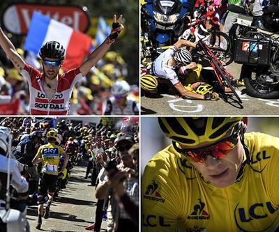 Koşmak zorunda kalan bisikletçi Froome'a mayosu iade edildi