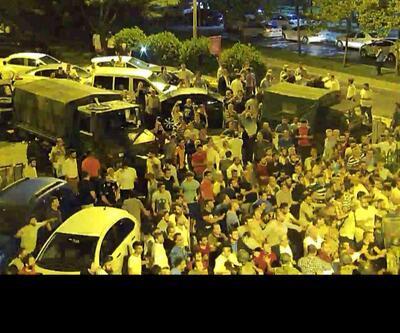 Darbe girişimi gecesinde AK Parti binasında arbede