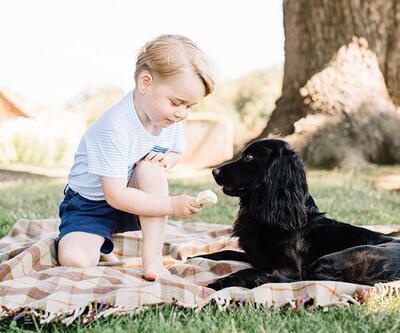Prens George 3 yaşında