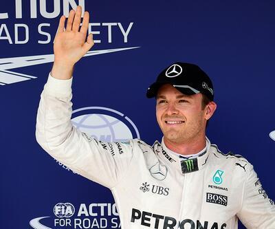 Budapeşte'de ilk sıra Rosberg'in
