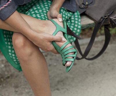 Topuklu ayakkabı kansere neden olabilir!