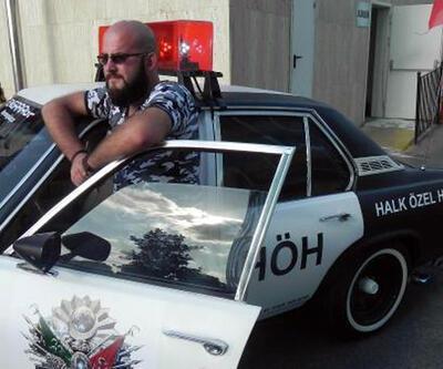 HÖH yazılı otomobil Kısıklı'ya götürüldü