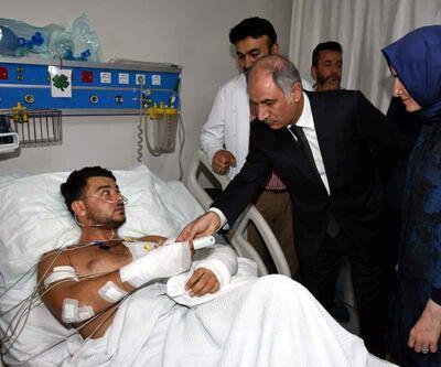 Dün Bakan Efkan Ala'dan tayin isteyen yaralı polis şehit oldu