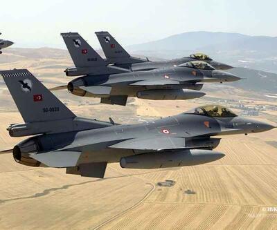 Türk jetleri Sincar ve Karaçok Dağı'ndaki PKK hedeflerini vurdu