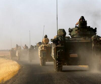 Sınırdaki birliklere askeri zırhlı araç takviyesi