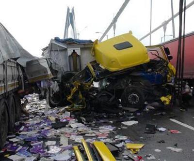 Yavuz Sultan Selim Köprüsü'nde ilk kaza selfie yüzünden