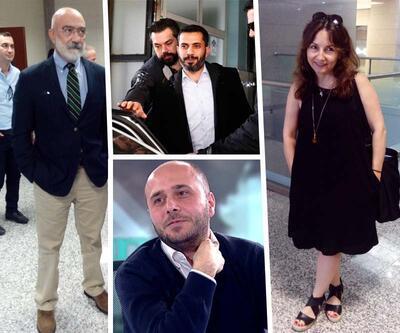 Taraf'ın eski yöneticileri ve Mehmet Baransu Balyoz kumpasından hakim karşısında
