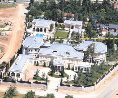Akın İpek'in Fethullah Gülen için yaptırdığı malikanede yıkım