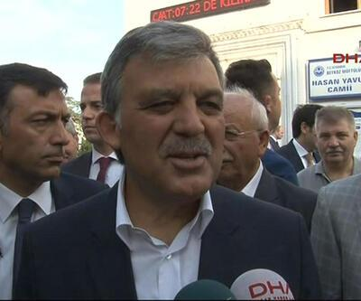 Abdullah Gül: Türkiye'ye daha çok sahip çıkmak gerekir