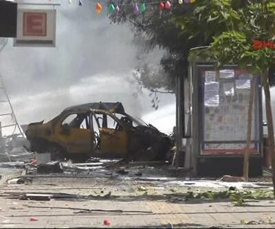 Van'daki patlamadan ilk kareler