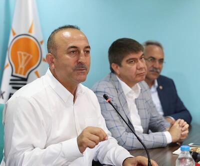Mevlüt Çavuşoğlu, belediyelere kayyum açıklaması nedeniyle ABD'ye çok sert yüklendi