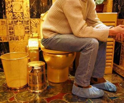 Altın tuvalet 90 kuruşa kullanıma açıldı