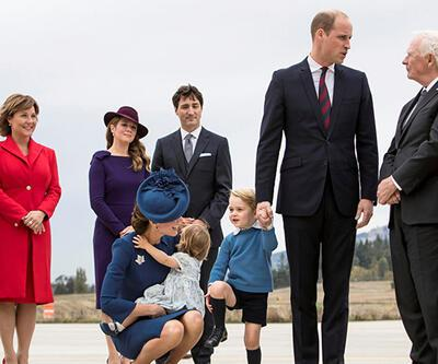 Prens George ilgi odağı oldu