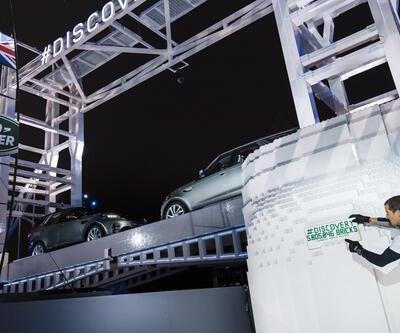 2017 Land Rover Discovery rekorla tanıtıldı