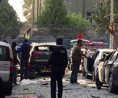 İstanbul 75. yıl polis merkezi yakınında patlama