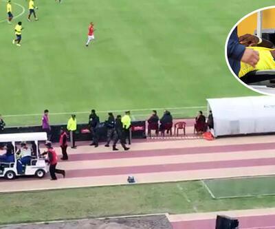 Oscar'lık futbolcu: Bayılma numarası yaparak polisten kaçtı