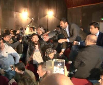 Kılıçdaroğlu'nun katıldığı sempozyumda protesto