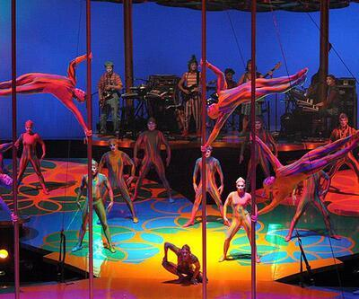 Cirque Du Soleil'in malzemelerine el kondu