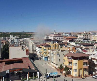 İşte Gaziantep'teki patlama anı