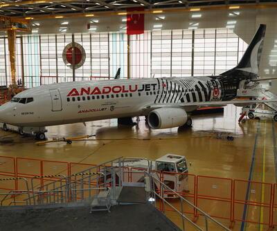 İşte Beşiktaş'ın uçağı böyle yapıldı