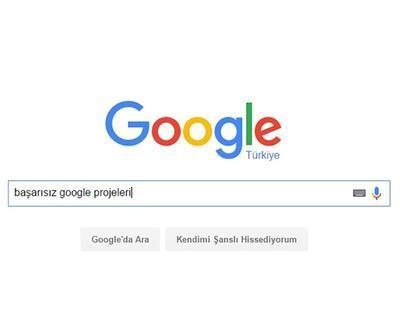 Google'ın hayal kırıklığı ile sonlanan 7 projesi!