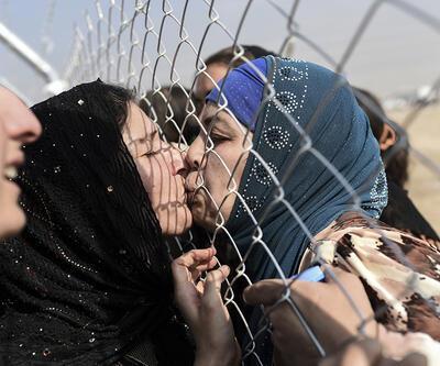 Musul'dan kaçanlar akrabalarıyla 2 yıl sonra mülteci kampında buluştu