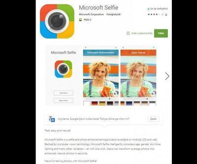 Microsoft Selfie Android için yayınlandı