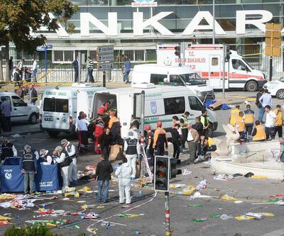 Ankara Garı katliamında ağlatan ifade