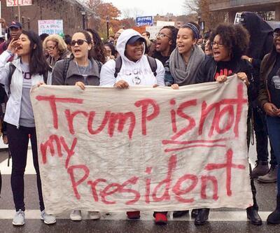 ABD'de Trump protestoları