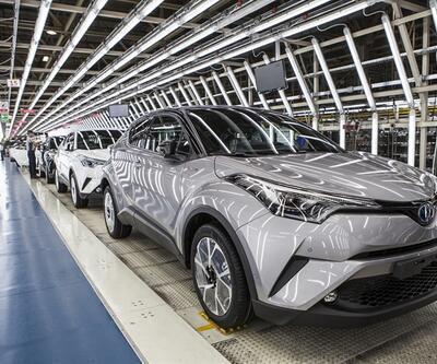 Türkiye'nin ilk yerli hibriti Toyota C-HR'den kareler