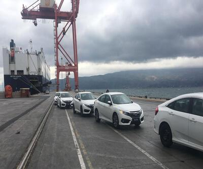 Yerli Civic Sedan gemiye bindi