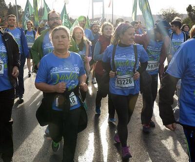 Annesi, İstanbul Maratonu'nda Ali İsmail Korkmaz için koştu