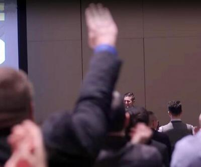 Trump'a Nazi selamı