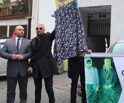 HDP Genel Merkezi önünde etekli protesto