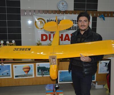 Dicle Üniversitesi'nde insansız hava aracı üretildi: Maliyeti 1500 TL