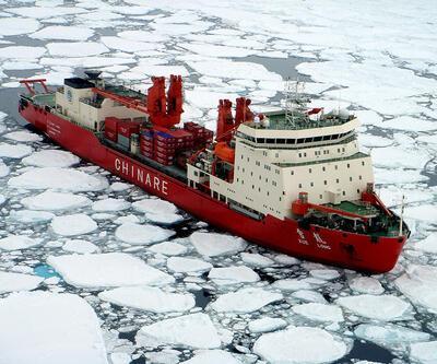 Çin'in 'Kar Ejderhası' Güney Kutbu'nda
